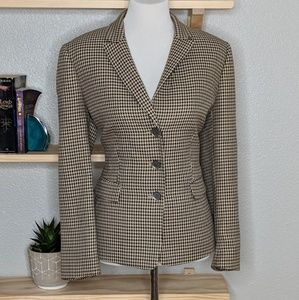 Tahari Jackets & Coats - Tahari ASL houndstooth blazer